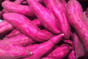 patates douces violettes